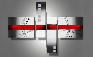 Tableau contemporain apportez une touche moderne votre int rieure - Tableau contemporain moderne design ...